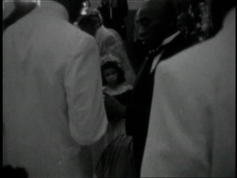 1950s montage black couple getting married / dallas, texas, united states - archival stock videos & royalty-free footage