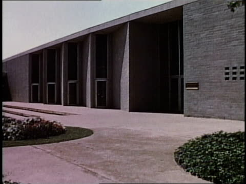 1950s montage young men and women at college / levittown, pennsylvania, united states - levittown pennsylvania stock videos and b-roll footage