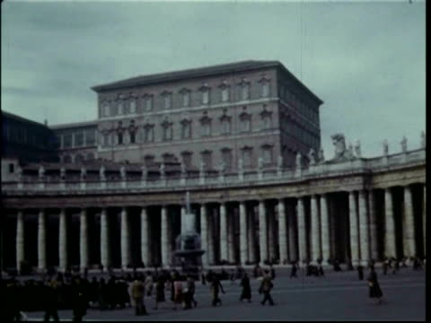 1950s Rome, The Vatican