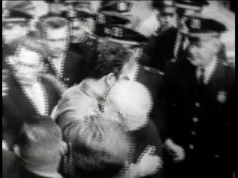 1960s ws fidel castro meeting with ben bella / havana cuba - 1960 1969 stock videos & royalty-free footage