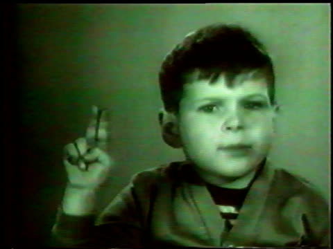 1960s MS Laura Scudder's Potato Chips commercial with child making pledge so he can eat chips
