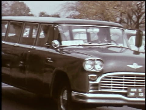 1960s montage military employees arriving for work in cars outside the pentagon / arlington county, virginia, united states - department of defense stock videos and b-roll footage
