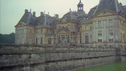 1960s ms palace with moat - 1960 1969 stock videos & royalty-free footage