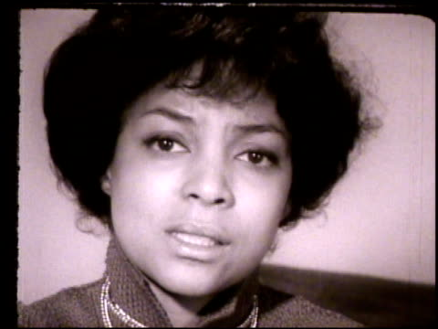 ruby dee ms actress ruby dee talking about lillian smith smith's character racism slavery sex occupation greed white guilt african americans blacks... - the machine: master or slave stock videos & royalty-free footage
