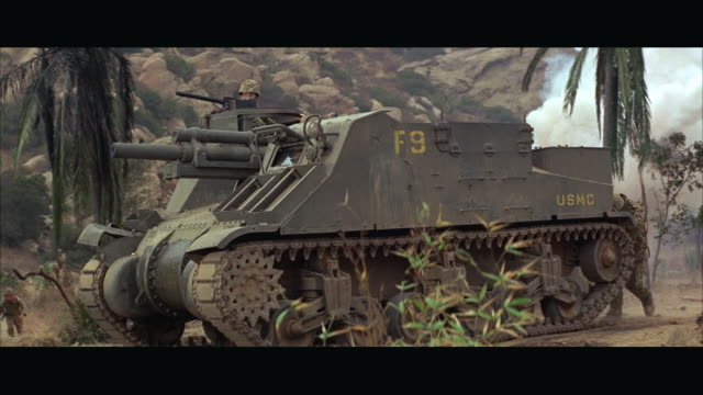 1960s ms tank bursting into flames - armoured vehicle stock videos and b-roll footage