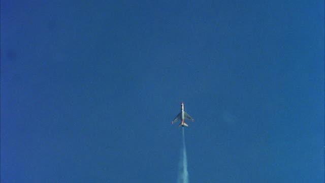 1960s WS PAN TU TD United States Air Force jet flying around