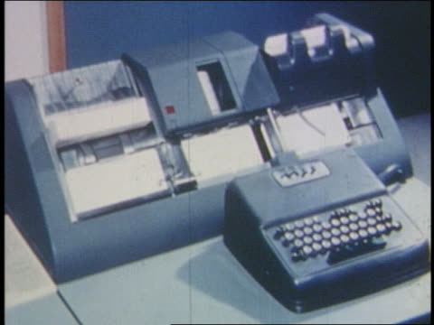 1960s/70s close up blue computer machinery - mainframe stock videos and b-roll footage