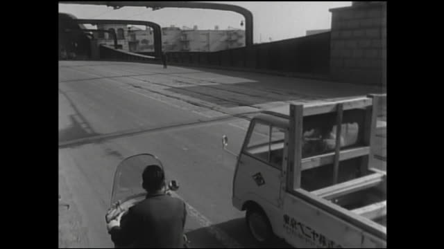 1961,Kachidoki-bashi was closed to traffic