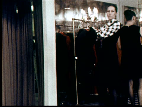 1970s fashions - fashion show stock-videos und b-roll-filmmaterial
