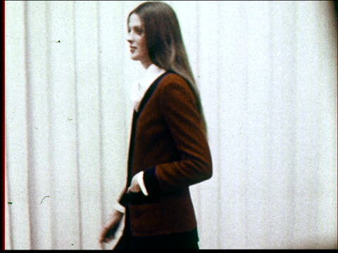 1970s fashions - fashion model stock videos & royalty-free footage