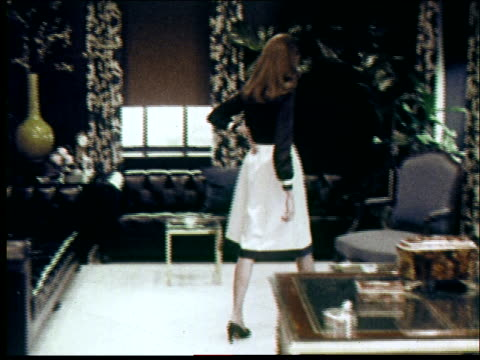 1970s fashions - home showcase interior stock videos & royalty-free footage