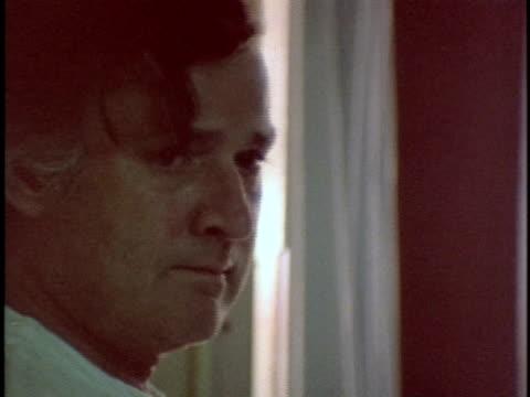 1970s MONTAGE Men in prison hospital Los Angeles California USA AUDIO