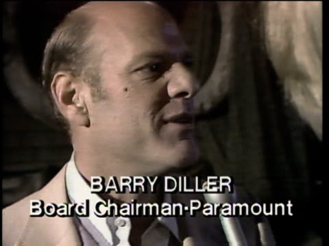 1980s barry diller being interviewed / los angeles, california, usa / audio - barry diller stock videos & royalty-free footage