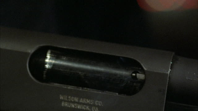 1980s ecu chamber of rifle ejecting cartridges - cartridge stock videos and b-roll footage