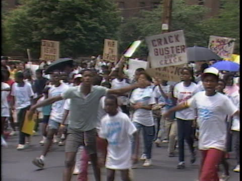 1980s crack epidemic takes over new york city on august 11 1986 in new york city - epidemic stock videos & royalty-free footage