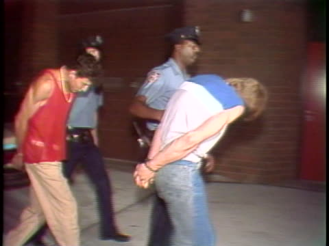 1980s crack epidemic takes over new york city on august 11 1986 in new york city - arrest stock videos & royalty-free footage