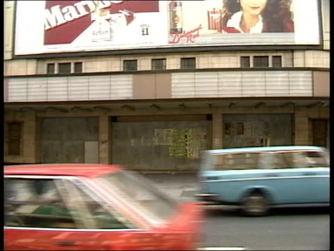 part 1 116392 3071982 cinemas various london cinemas are being forced to close wardour street city of westminster sign pull out street cinema... - collection stock videos and b-roll footage