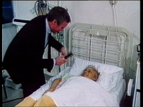 1980s lifestyle collection: part 1; 118019: herpes: interview with unidentifide man on the pain of herpes; graphic on number of sufferers; people... - herpes video stock e b–roll