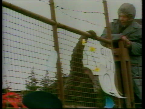part 3 119846 141983 COMMON Berkshire thousands of Campaign for Nuclear Disarmament supporters link arms around the Greenham Common Cruise Missile...