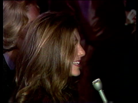 1980s montage celebrities at premiere, including peter falk, shelley duvall, jill clayburgh, cheryl tiegs, barry diller, henry winkler, tatum o'neal,... - barry diller stock videos & royalty-free footage