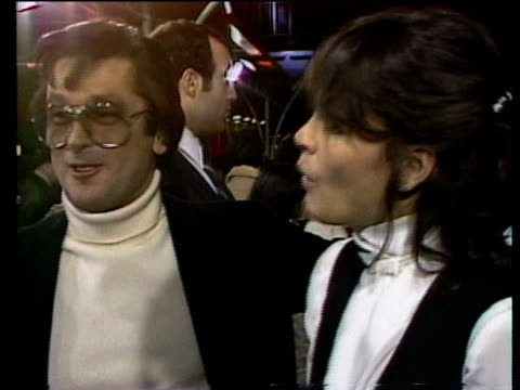 1980s montage celebrities on red carpet including ali macgraw hugh hefner robert evans barbi benton sondra theodore and george gradow / los angeles... - hugh hefner stock videos & royalty-free footage