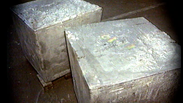 1990s various of cocaine haul being uncovered inside ingots date unknown england elmore davies along freeze - haulage stock videos & royalty-free footage