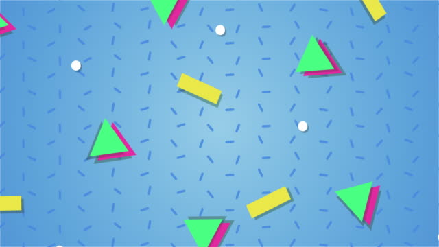 1990s style animated background pattern - bright colour stock videos & royalty-free footage