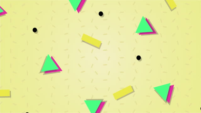1990s style animated background pattern - funky stock videos and b-roll footage