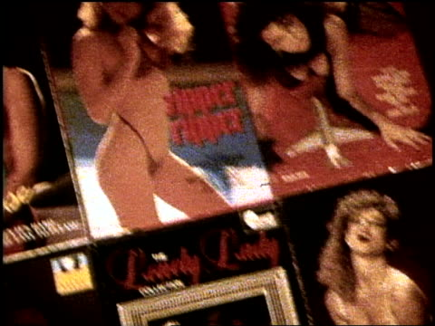 1990s xrated adult magazine covers in nyc - x rated stock videos & royalty-free footage