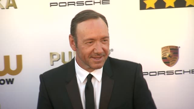 19th annual critics' choice movie awards - arrivals at the barker hanger on in santa monica, california. - critics' choice movie awards stock videos & royalty-free footage
