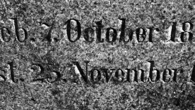 lápida alemana del siglo 19