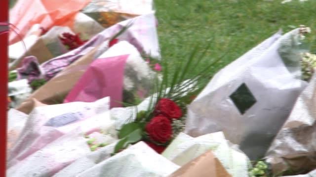 19yearold man stabbed to death in Kensington named as Lewis Blackman Kentish Town Peckwater Estate Floral tributes for Lewis Blackman PAN