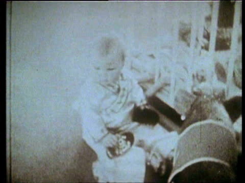 oct-1938 b/w montage crown princess beatrix as a baby and her mother, queen juliana / netherlands - medium group of animals stock videos & royalty-free footage