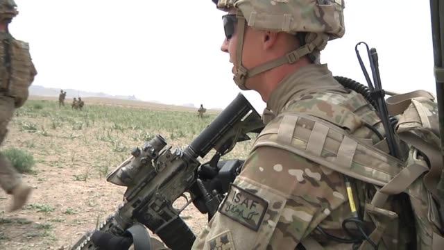 1st Battalion 12th Infantry Regiment 4th Brigade Combat Team 4th Infantry Division took an advisory role to help the Afghan National Army's 2nd...