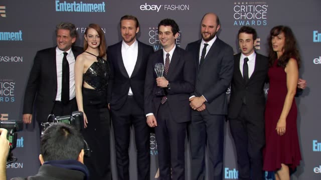 CHYRON 22nd Annual Critics' Choice Awards in Los Angeles CA