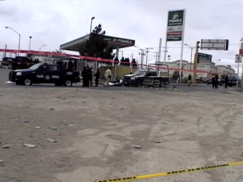23apr2010 montage seven police officers one civilian were killed by heavily armed gunmen in apparent retaliation for the arrest of eight people tied... - mafia stock videos and b-roll footage