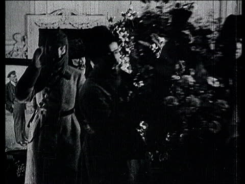 23jan1924 b/w montage lenin's funeral in moscow procession with the coffin entering the chapel of rest procession climbing the stairs with flowers... - funeral procession stock videos & royalty-free footage
