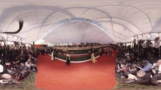 vídeos de stock, filmes e b-roll de capsule 23rd annual screen actors guild awards 360 arrivals - screen actors guild