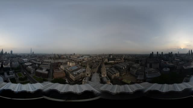 24hr TimeLapse of London from St Paul's Cathedral