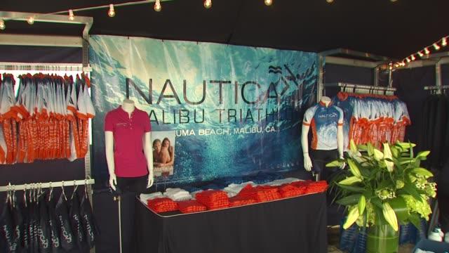 24th annual nautica malibu triathlon at the 24th annual nautica malibu triathlon at malibu ca - nautica malibu triathlon stock videos & royalty-free footage