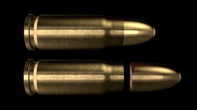 25mm bullet. luma matt - organized crime stock videos and b-roll footage