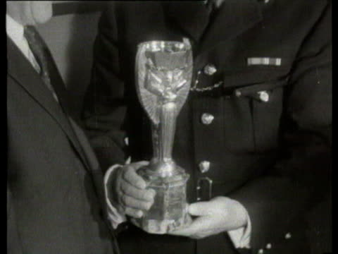 26Mar1966 B/W MONTAGE World Cup recovered after being stolen / United Kingdom