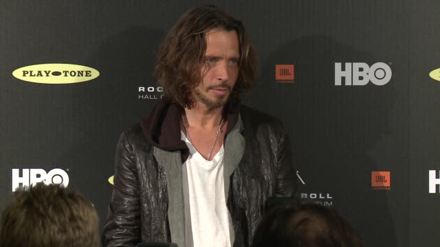 28th annual rock and roll hall of fame induction ceremony - press room, los angeles, ca, united states, 4/18/2013 - イベントまとめ動画点の映像素材/bロール
