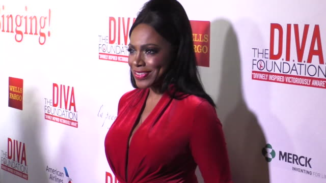 29th annual divas simply singing on world aids day on in hollywood california - lisaraye mccoy stock videos & royalty-free footage