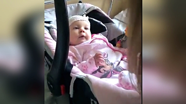 month-old baby girl named laura is in the hospital due to a lung infection, but that won't stop her from having some fun. when her aunt comes for a... - aunt stock videos & royalty-free footage
