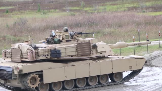 2nd battalion 69th armored regiment 2nd armored brigade combat team 3rd infantry division conduct training with m1a1sa abrams tanks at fort stewart... - fort stewart stock videos & royalty-free footage
