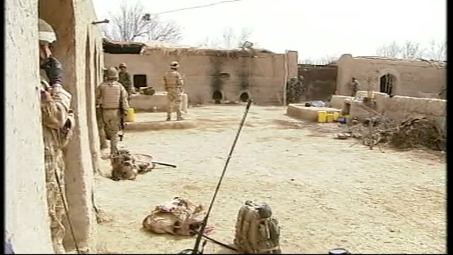 300th British soldier dies in Afghanistan T15031013 British and Afghan National Army troops in compound as it comes under fire from Taliban insurgents