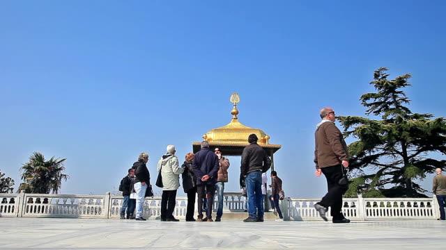 hd: i̇ftar kiosk, topkapi palace - ottoman stock videos and b-roll footage