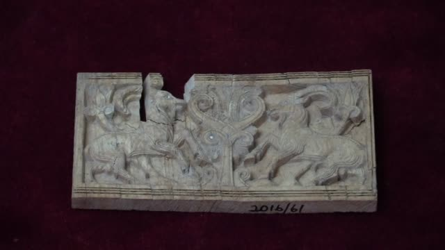a 3200yearold ivory tablet found in turkey's eastern malatya province has given clues on a connection between the region and assyria an ancient... - mesopotamia stock videos and b-roll footage