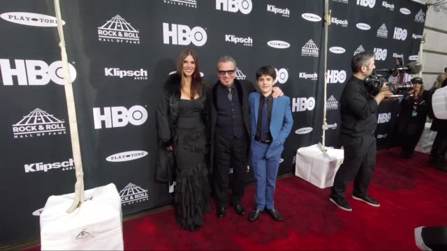 clean 33rd annual rock roll hall of fame induction ceremony arrivals at public auditorium on april 14 2018 in cleveland ohio - annual event stock videos and b-roll footage